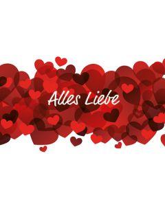 """Gutschein """"Alles Liebe"""""""